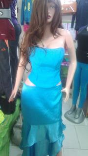 Vestido Elegante Traje Corset Y Falda