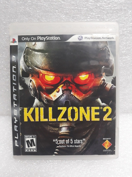 Killzone 2 E Killzone 3 Ps3 Mídias Físicas