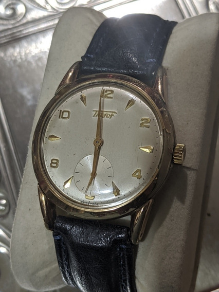 Reloj Vintage Tissot Chapa Movimiento Manual
