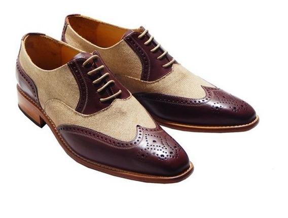 Zapatos Acordonados Dublin Combinados Priamo Italy