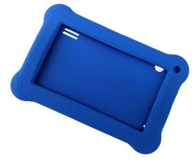Clase P/ Tablet 7 Emborrachada Pr936 Kid Pad Azul