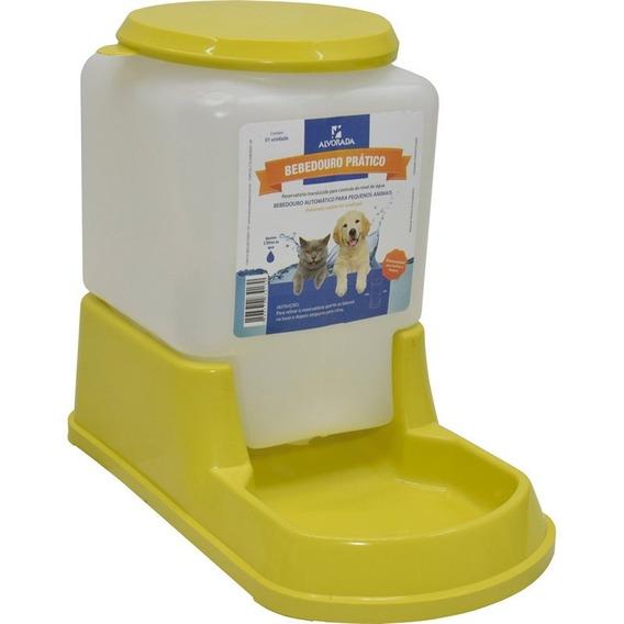 Bebedouro Animal 3l Cão/gato Automático - Kit C/2 Peças