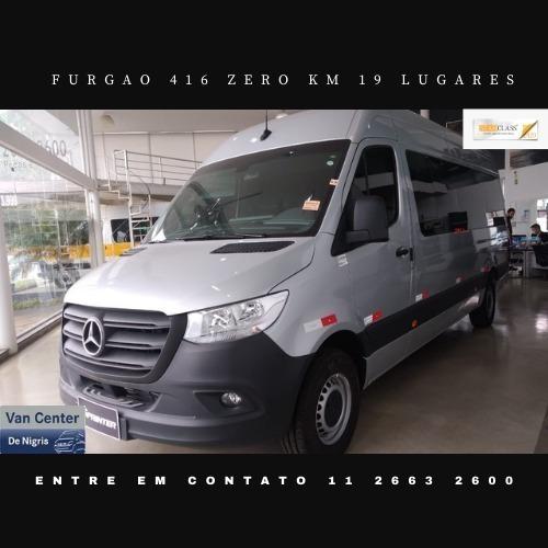 Mercedes-benz Furgão Passageiro 416 Marticar 19 Lugares