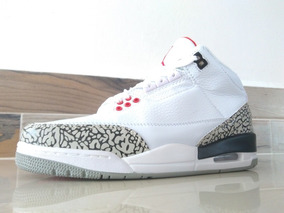 Tenis Jordan R3 White Cement + Envío Gratis Por Dhl