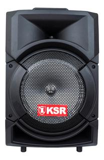 Bocina Kaiser MSA-5808 portátil inalámbrica Negro