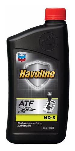 Havoline Atf Md3 Fluido Transmisiones Y Dirección Hidráulica
