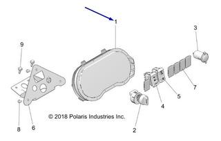 Painel Instrumentos C4 Polaris Pn# 3280773