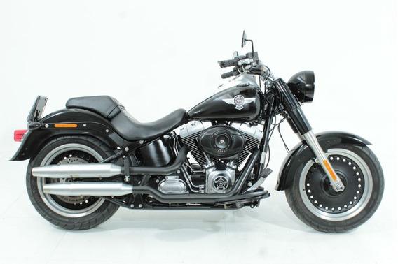 Harley-davidson Softail Fat Boy Special 2012 Preta