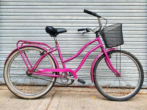 Bicicleta De Paseo Urbana Rod.26 Frenos Manuales