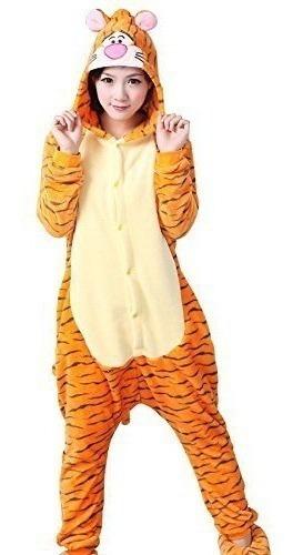 Pijama Mameluco Tigger Tigre Winnie Pooh Disfraz Polar
