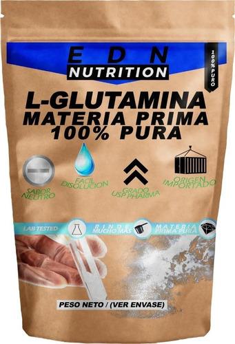 L Glutamina 500 Gr Aminoacido Puro Usp 100% - Edn