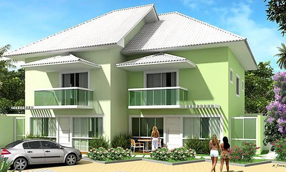 Casa Em Condomínio Fechado - Segurança 24 - 2.500,00 + Taxas