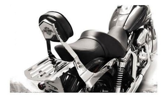 Sissy Bar Encosto Cobra Engate Rapido Dyna Low Rider Harley