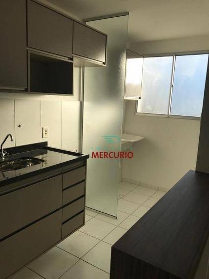 Apartamento Com 2 Dormitórios Para Alugar, 45 M² Por R$ 650/mês - Parque Bauru - Bauru/sp - Ap3392