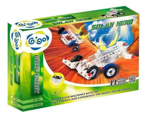 Imagen 1 de 6 de Juego Ciencia Experimento Heroe Solar Gigo 7361 Energía Full