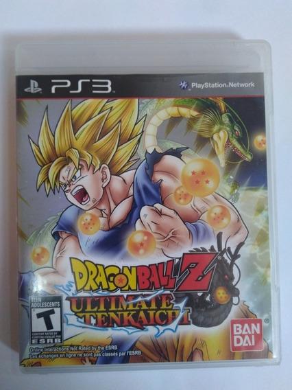 Jogo Dragon Ball Z Ultimate Tenkaichi Ps3 Fisica R$95