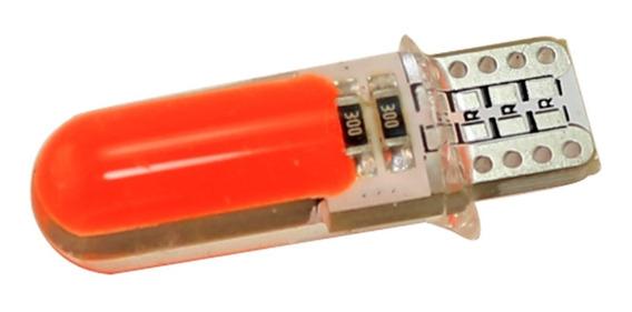 Lampara T10 Posicion Led 20 Chip Sistema Canbus Siliconados Blanco Rojo Ambar Rosa Ice Blue Verde Azul Super Potencia Nh