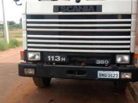 Scania 113 360 Canavieiro 1995 Motor Semi Novo R$ 60.000.