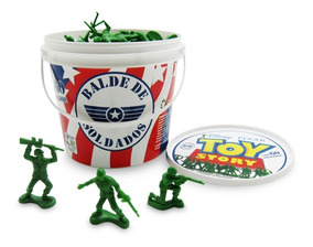 Balde Com 60 Soldados Toy Story Disney & Pixar Toyng 26772