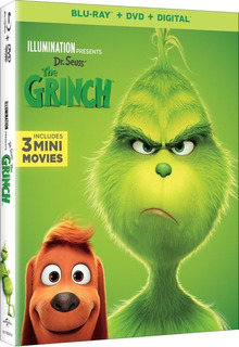 Blu-ray --- Dr Seuss The Grinch