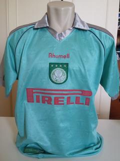 Rara Camisa Palmeiras 2002 Uniforme 3 #10 Em Perfeito Estado