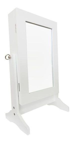 Espelho De Mesa Porta Joias E Acessórios W6010s
