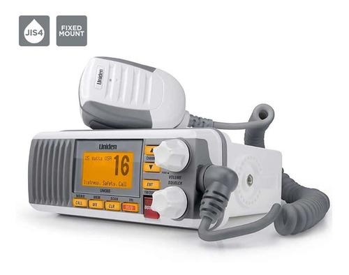 Equipo Fijo Radio Vhf Uniden 385 Blanca