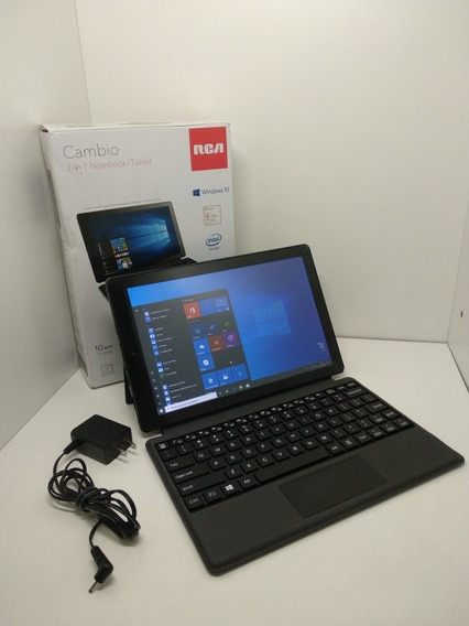 Note/tablet 2 Em 1 Rca Câmbio - Windows 10 - 32gb -novíssimo