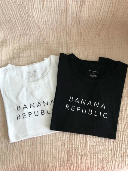 Remeras Basicas Algodón Banana Republic