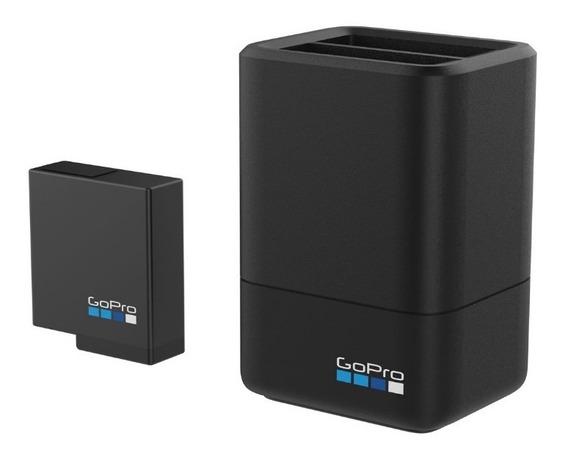 Cargador Dual+batería Gopro Hero 5,6,7 Black Por Scubafoto