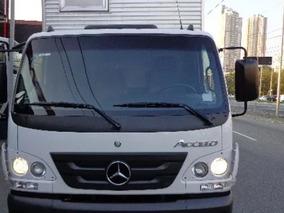 Mercedes-benz Accelo 1016 Bau De Aluminio 1016