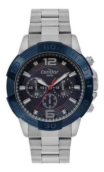 Relógio Condor Masculino Civic Prata Covd54ba/3a