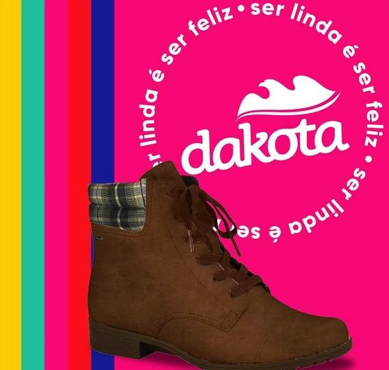 Bota Dakota Cano Curto Garland Chocolate