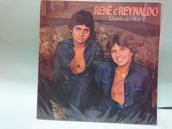 Lp Rene E Reynaldo Quarto De Hotel 1982 Frete Gratis