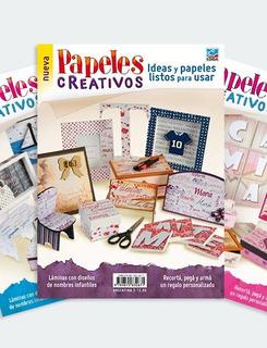 Pack De Revistas Papeles Creativos 1, 2 Y 3- Ediba
