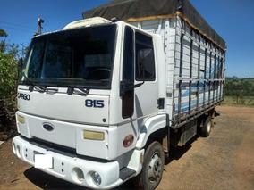 Ford Cargo 815 Gaiola P/ Cavalos