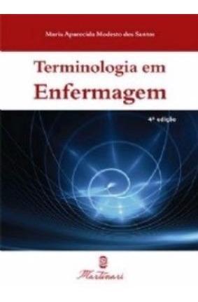 Terminologia Em Enfermagem Nova Edição - Original E Lacrado