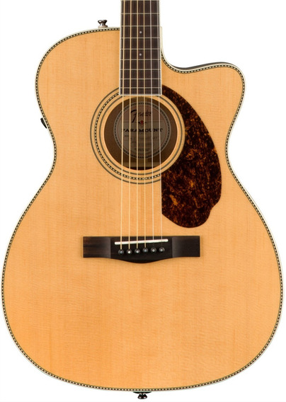 Guitarra Electroacústica Fender Paramount Pm-3 Standard