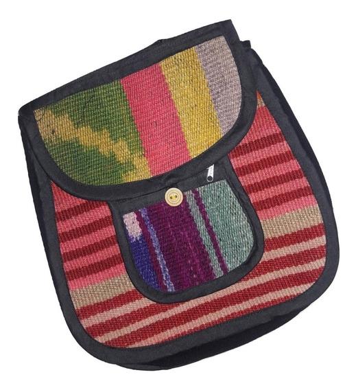 Morral Bandolera De Puyo Varios Colores Tamaño 5