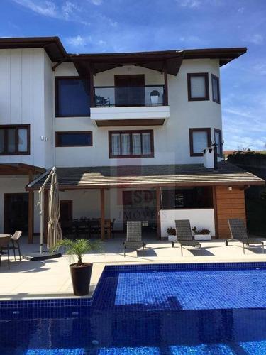 Casa Com 5 Dormitórios À Venda, 420 M² Por R$ 3.600.000,00 - Várzea - Teresópolis/rj - Ca0783