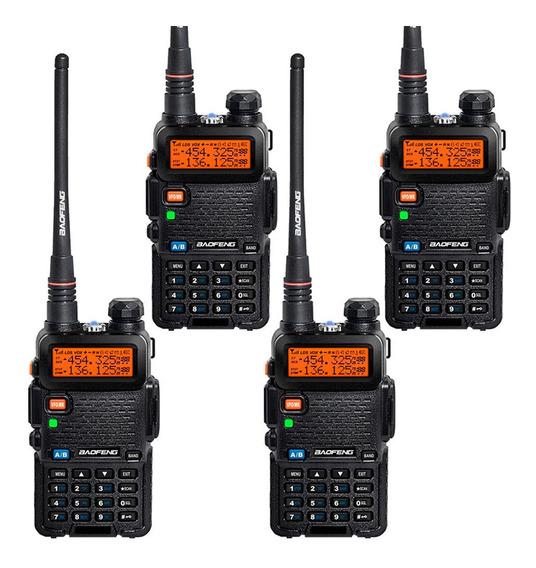 Kit Handies Modelos Baofeng 50km Doble Banda Uv 5r/5ra/5re