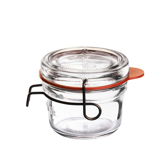 Pote C/ Tampa Removivel Lock Eat 125 Ml