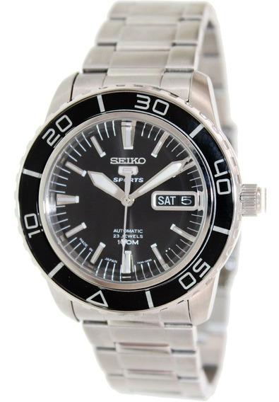 Relógio Masculino Seiko Snzh55 Aço Inoxidável