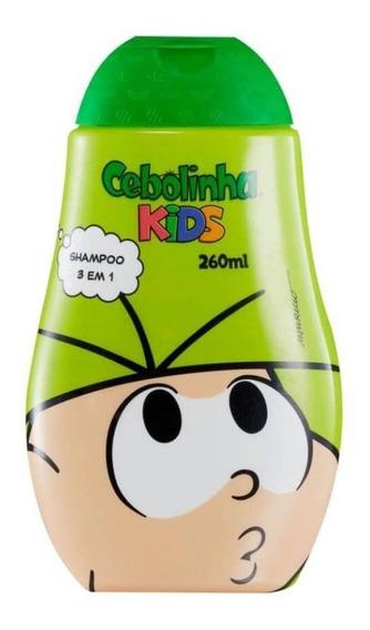 Betulla Turma Da Mônica 3em1 Cebolinha Shampoo 260ml