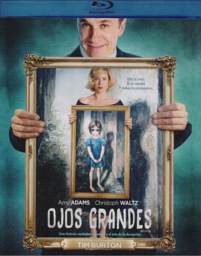 Ojos Grandes Big Eyes Tim Burton Pelicula Blu-ray
