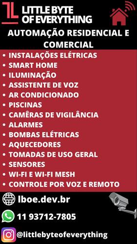 Imagem 1 de 1 de Elétrica, Automação Residencial E Sistemas De Monitoramento