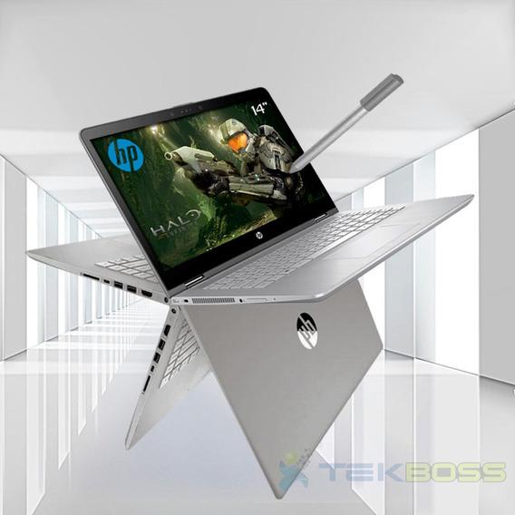 Laptop Hp X360 Core I5 8va Gen.+1tb+24gb+ 14 Touch Full Hd