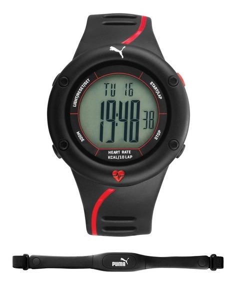 Relogio Monitor Cardiaco Puma Time Unissex Digital Esportivo