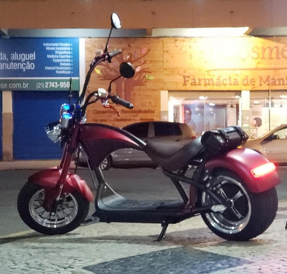 Moto Scooter Chopper Harley Eletrica 2000 W