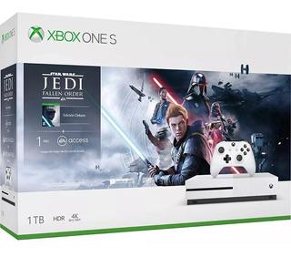 Consola Xbox One S 1tb Microsoft Juego Jedi Original Nuevo
